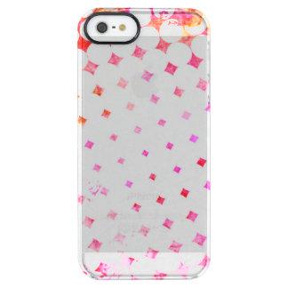 Capa Para iPhone SE/5/5s Transparente Design de explosão cor-de-rosa da banda desenhada