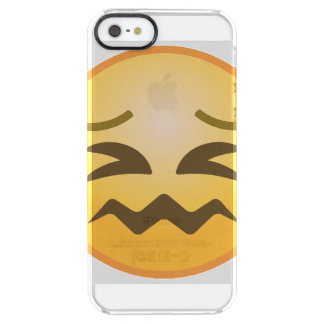 Capa Para iPhone SE/5/5s Transparente Emoji confundido