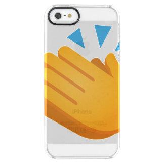 Capa Para iPhone SE/5/5s Transparente Emoji de aplauso