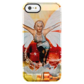 Capa Para iPhone SE/5/5s Transparente Fada maravilhosa com cisne