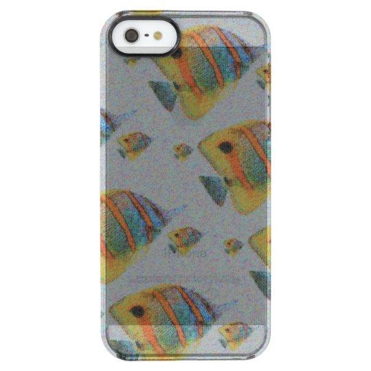 Capa Para iPhone SE/5/5s Transparente Fishing Case (Yellow version)