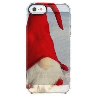 Capa Para iPhone SE/5/5s Transparente Gnomo escandinavo do Natal