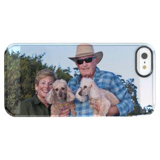 Capa Para iPhone SE/5/5s Transparente Lixívia - caniches - Romeo Remy