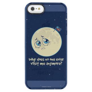 Capa Para iPhone SE/5/5s Transparente Lua triste