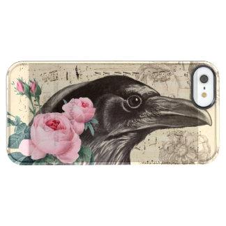Capa Para iPhone SE/5/5s Transparente Música do corvo