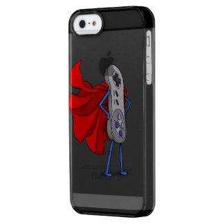 Capa Para iPhone SE/5/5s Transparente O super-herói do Gamer