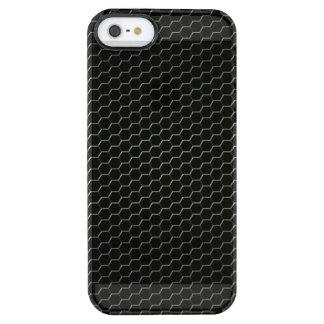 Capa Para iPhone SE/5/5s Transparente polímero Carbono-fibra-reforçado