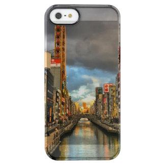 Capa Para iPhone SE/5/5s Transparente Rio de Osaka