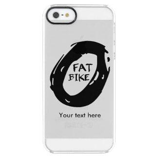 Capa Para iPhone SE/5/5s Transparente Roda da bicicleta do bastão