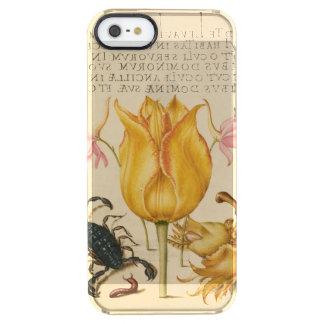 Capa Para iPhone SE/5/5s Transparente scorpio amarelo da tulipa