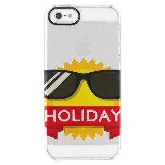 Capa Para iPhone SE/5/5s Transparente Sol legal dos sunglass
