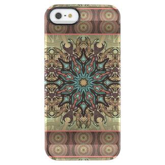 Capa Para iPhone SE/5/5s Transparente Teste padrão floral étnico abstrato colorido da