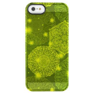 Capa Para iPhone SE/5/5s Transparente Teste padrão luxuoso floral da mandala