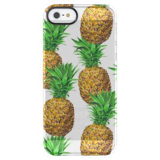 Capa Para iPhone SE/5/5s Transparente Teste padrão sem emenda com abacaxis