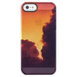 Capa Para iPhone SE/5/5s Transparente w no tempo