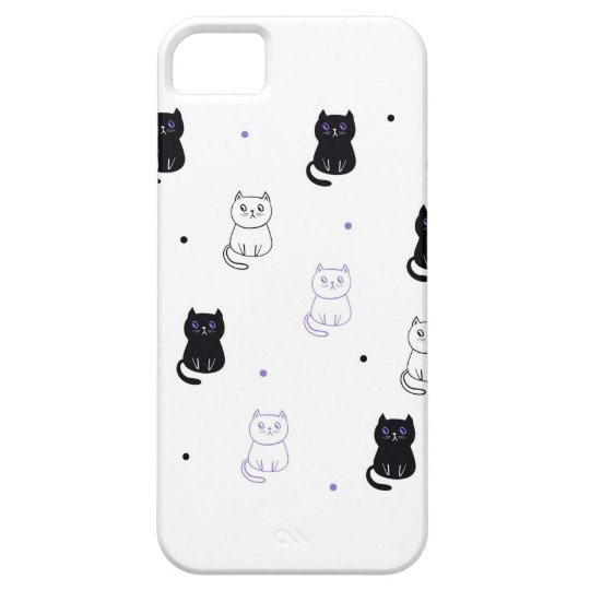 Capa para iPhone SE + iPhone 5/5S Cats