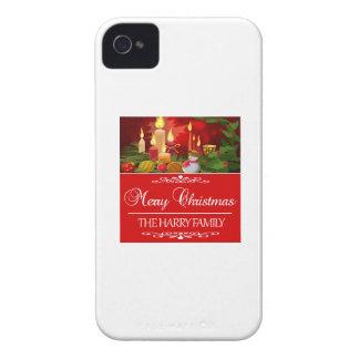 Capa Para iPhone Tendendo o design do Natal da família de Harry