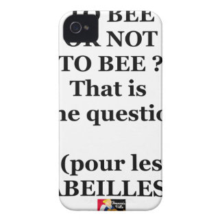 Capa Para iPhone TO BEE OR NOT TO BEE? That is the question