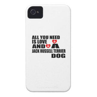 Capa Para iPhone Tudo você precisa o design dos cães de RUSSELL