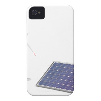 Capa Para iPhone Turbina eólica e painel solar