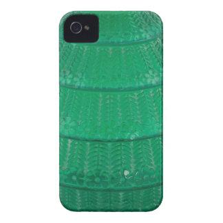 Capa Para iPhone Vaso verde do vidro da arte