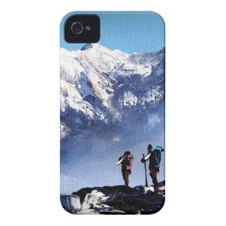Capa Para iPhone Vista panorâmica da montanha máxima de Ama Dablam