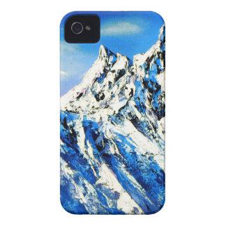 Capa Para iPhone Vista panorâmica do pico de montanha de Everest