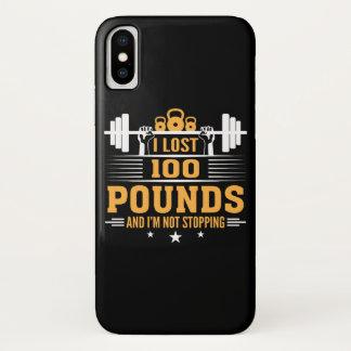 Capa Para iPhone X 100 libras perdidas da malhação de parada de Im