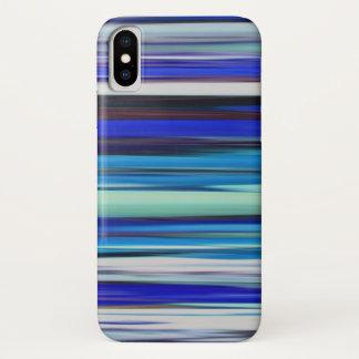 Capa Para iPhone X #2 abstrato: Borrão azul