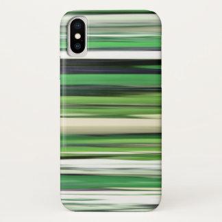 Capa Para iPhone X #2 abstrato: Borrão verde