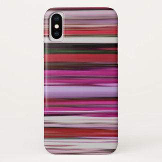 Capa Para iPhone X #2 abstrato: Borrão vermelho