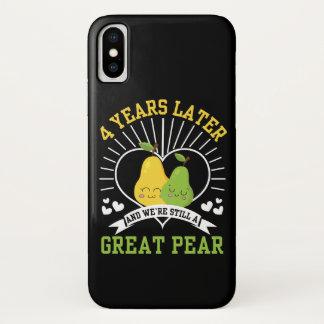 Capa Para iPhone X 4 anos mais tarde era camisa ainda grande da pera
