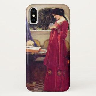 """Capa Para iPhone X """"A bola de cristal"""" pelo Waterhouse"""