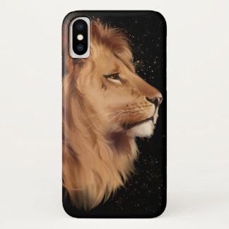 Capa Para iPhone X A cabeça de um leão
