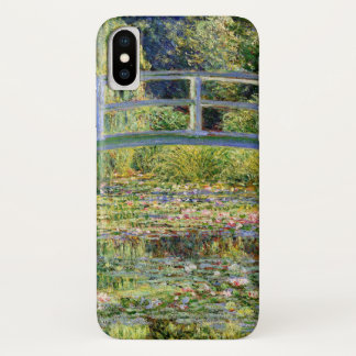 Capa Para iPhone X A lagoa do Água-Lírio por belas artes de Monet