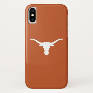 Capa Para iPhone X A Universidade do Texas | engancha-os chifres
