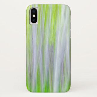 Capa Para iPhone X Abstrato da fuga do rio das árvores | Yakima de