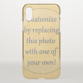 Capa Para iPhone X Adicione uma foto para personalizar