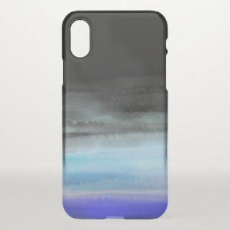 Capa Para iPhone X Água no preto