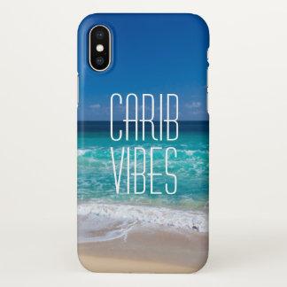 Capa Para iPhone X Água tropical de turquesa da praia das impressões