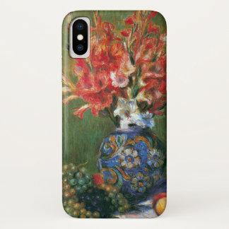Capa Para iPhone X Ainda flores e fruta da vida por Pierre Renoir