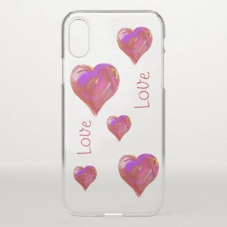 Capa Para iPhone X Amor