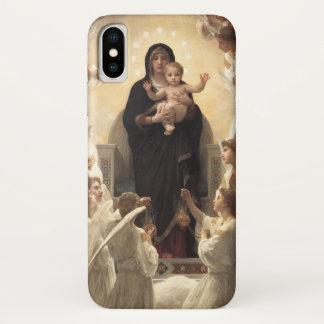 Capa Para iPhone X Anjos do Victorian, Regina Angelorum por