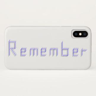 Capa Para iPhone X Apenas RECORDE