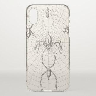 Capa Para iPhone X Aranhas em uma Web