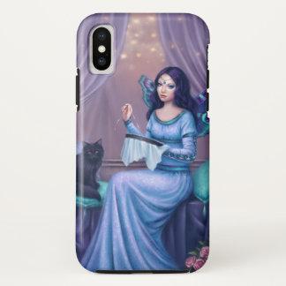 Capa Para iPhone X Ariadne - fada da borboleta de pavão