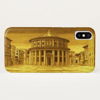 Capa Para iPhone X Arquiteto IDEAL do renascimento da CIDADE, amarelo