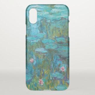 Capa Para iPhone X Arte de Nymphéas GalleryHD dos lírios de água de
