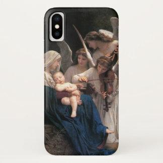 Capa Para iPhone X Arte do Victorian do vintage, canção dos anjos,