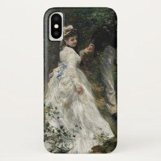 Capa Para iPhone X Arte impressionista da pintura de Renoir do